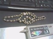 "16"" Silver Byzantine Chain 925 Silver 57.1g"